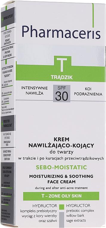 Crema idratante post acne - Pharmaceris T Sebo-Moistatic Cream SPF30