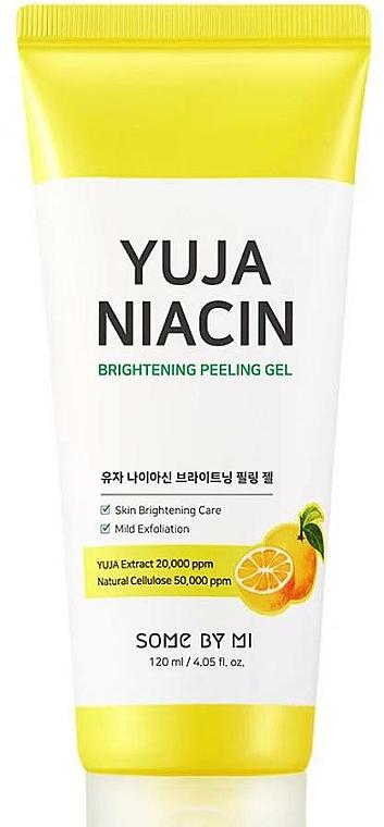 Gel peeling vio illuminante - Some By Mi Yuja Niacin Brightening Peeling Gel — foto N1