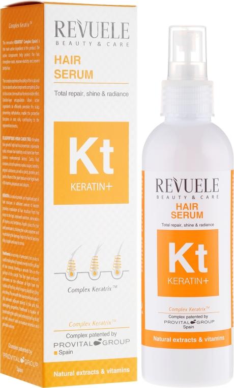 Siero rigenerante per capelli - Revuele Keratin+ Hair Serum