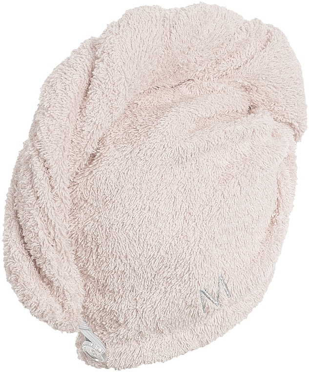 Asciugamano turbante, beige - MakeUp — foto N3
