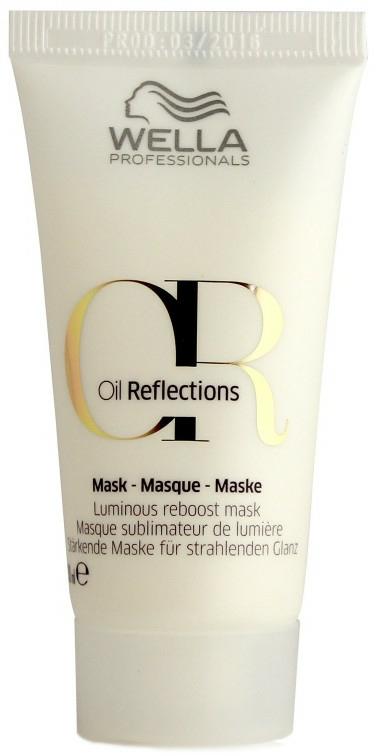 Maschera illuminante - Wella Professionals Oil Reflections Luminous Reboost Mask (mini)