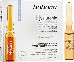 Profumi e cosmetici Fiala con acido ialuronico - Babaria Hyaluronic Acid Ampoule