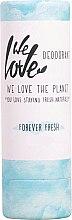 Profumi e cosmetici Deodorante idratante solido - We Love The Planet Forever Fresh Deodorant Stick