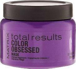 Profumi e cosmetici Maschera per capelli colorati - Matrix Total Results Color Obsessed Mask