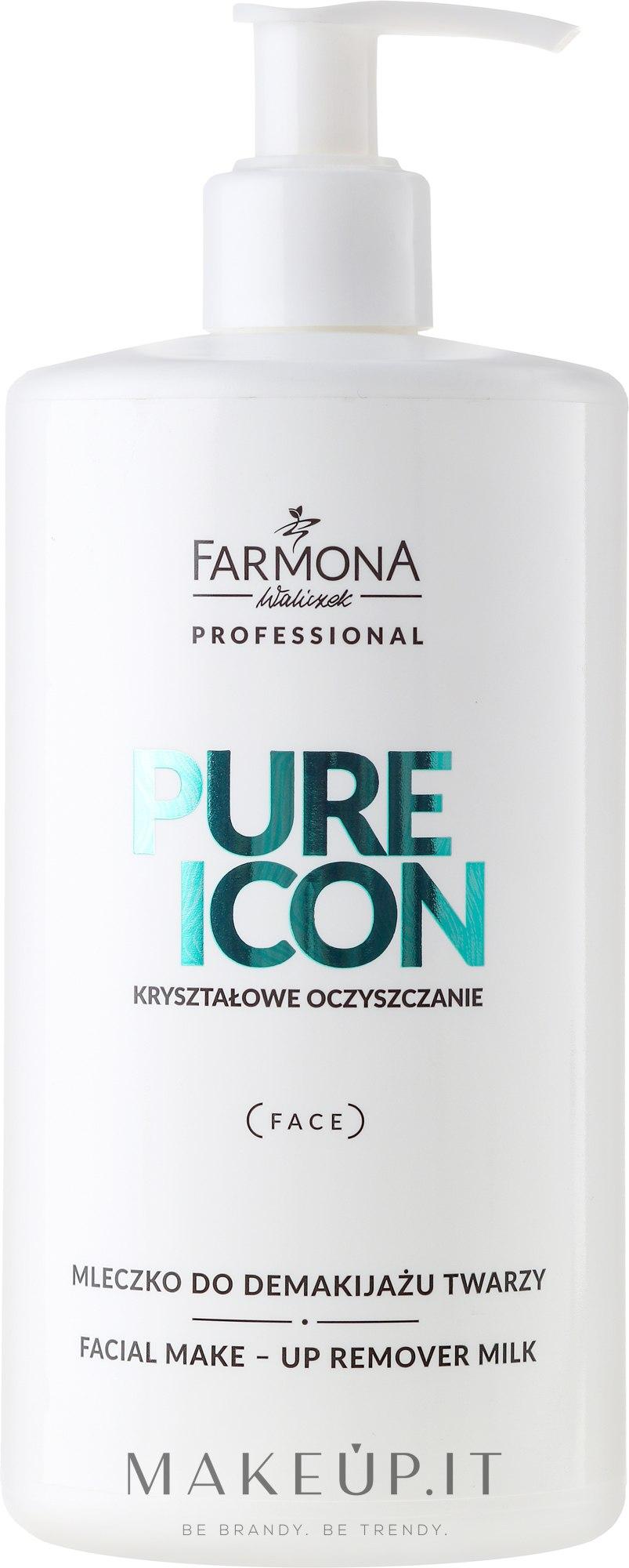 Latte struccante - Farmona Professional Pure Icon Facial Make-up Remover Milk — foto 500 ml