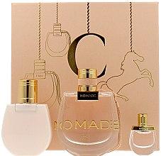 Profumi e cosmetici Chloe Nomade - Set (edp/75ml + edp/mini/5ml + b/lot/100ml)