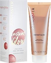 Profumi e cosmetici Maschera peel-off illuminante - Lancaster Instant Glow Peel-Off Pink Gold Mask