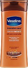 Profumi e cosmetici Lozione corpo idratante - Vaseline Intensive Care Cocoa Radiant Lotion