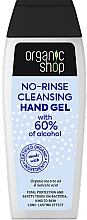 Profumi e cosmetici Gel detergente per mani - Organic Shop Antibacterial Action No-Rinse Cleansing Hand Gel