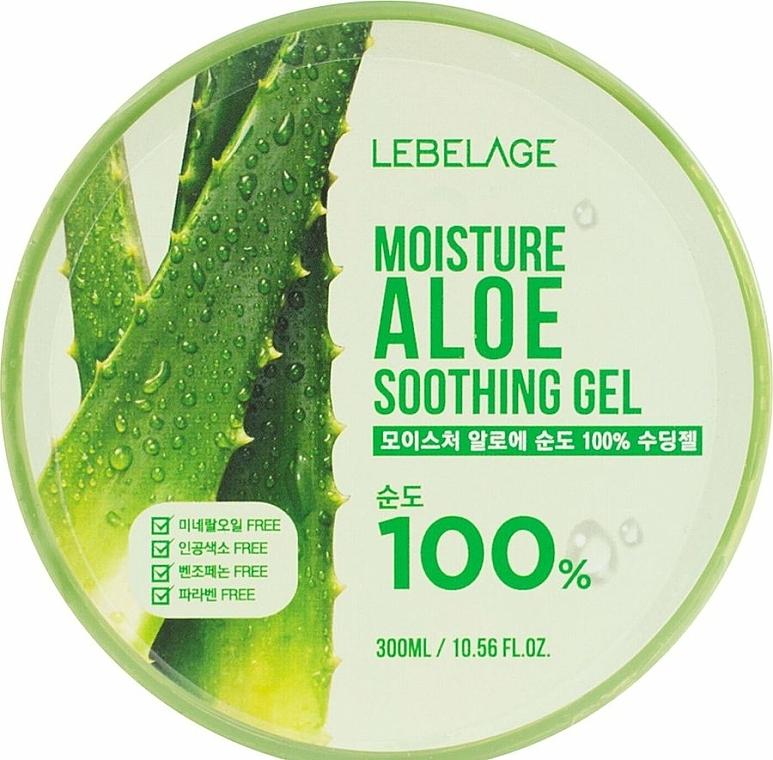 Gel idratante all'aloe - Lebelage Moisture Aloe 100% Soothing Gel