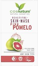 "Profumi e cosmetici Maschera viso ""Pomelo rosa"" - Cosnature Beautiful Skin Mask Pink Pomelo"