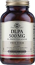 """Profumi e cosmetici Integratore alimentare 500mg """"Complesso di amminoacidi"""" - Solgar DLPA DL-Phenylalanine"""