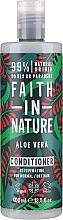 """Profumi e cosmetici Balsamo per capelli normali e secchi """"Aloe Vera"""" - Faith In Nature Aloe Vera Conditioner"""