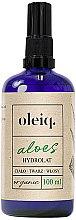 Profumi e cosmetici Idrolato aloe per viso, corpo e capelli - Oleiq Hydrolat Aloe