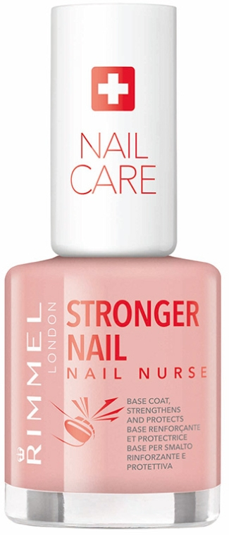 Smalto rinforzante - Rimmel London Nail Nurse Stronger Nail