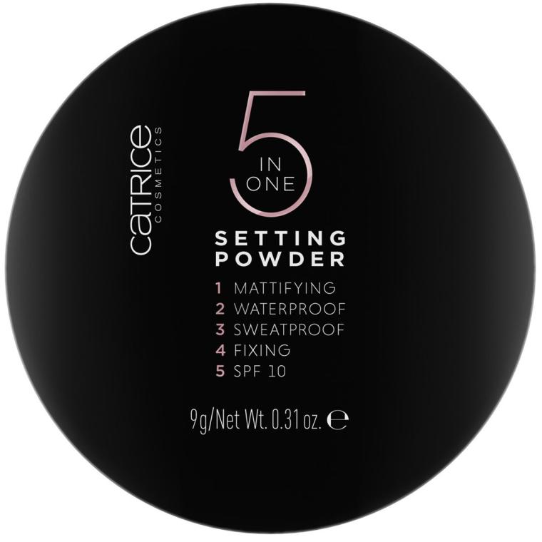 Cipria - Catrice 5 in 1 Setting Powder