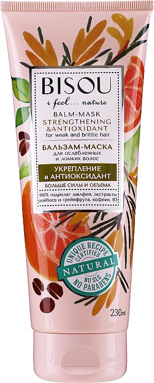 "Maschera-balsamo per capelli ""Rinforzante e antiossidante"" - Bisou Balm-Mask Strengthening & Antioxidant"