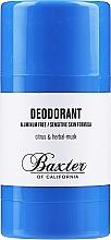 Profumi e cosmetici Deodorante - Baxter of California Deo Citrus Herbal