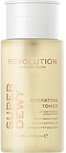 Profumi e cosmetici Tonico viso emolliente ed idratante - Revolution Skincare Superdewy Moisturizing Toner