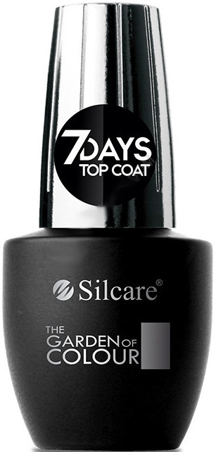 Top per unghie - Silcare The Garden of Colour Top Coat 7days