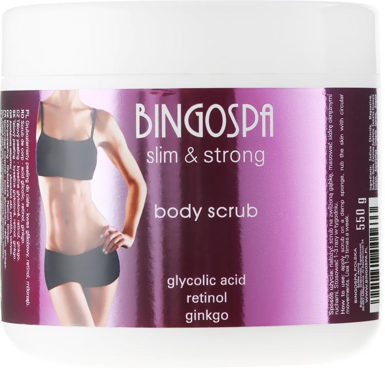Scrub corpo - BingoSpa Slim&Strong Body Scrub