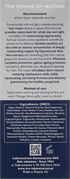 Crema viso opacizzante rigenerante - Ava Laboratorium Eco Men Cream — foto N3