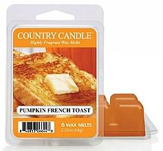 Profumi e cosmetici Cera per lampada aromatica - Country Candle Pumpkin French Toast Wax Melts