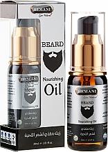 "Profumi e cosmetici Olio da barba alle erbe - Hemani Oh Mah Beard Ambra Beard Oil ""Naturalny"""