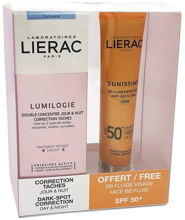 Set - Lierac Lumilogie (f/concentrate/2x15 ml + f/fluid/40ml) — foto N1