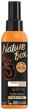 Profumi e cosmetici Spray capelli all'olio di albicocca spremuto a freddo - Nature Box Apricot Oil Extra Shine Spray