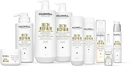 Siero rigenerante per capelli danneggiati - Goldwell Dualsenses Rich Repair Intensive Restoring Serum — foto N3