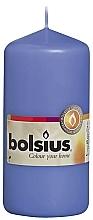 Profumi e cosmetici Candela cilindrica, blu, 120/58 mm - Bolsius Candle