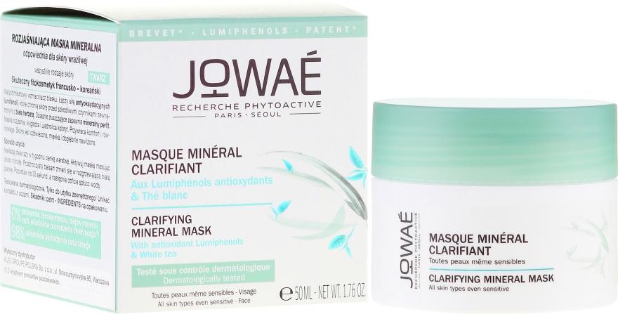 Maschera minerale rinfrescante per pelli sensibili - Jowae Masque Clarifying Mineral Mask