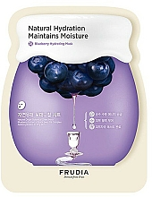 Profumi e cosmetici Maschera viso idratante in tessuto - Frudia Hydrating Blueberry Mask
