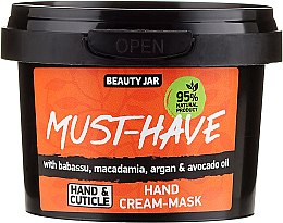 Profumi e cosmetici Maschera crema mani - Beauty Jar Must-Have Hand Cream-Mask