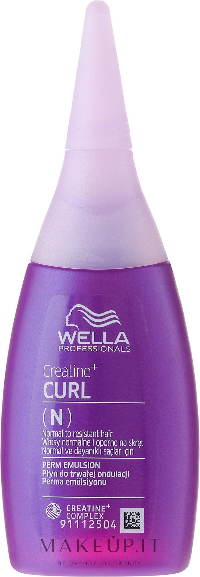 Lozione capelli ricci (N) - Wella Professional Creatine + Curl(N) — foto 75 ml
