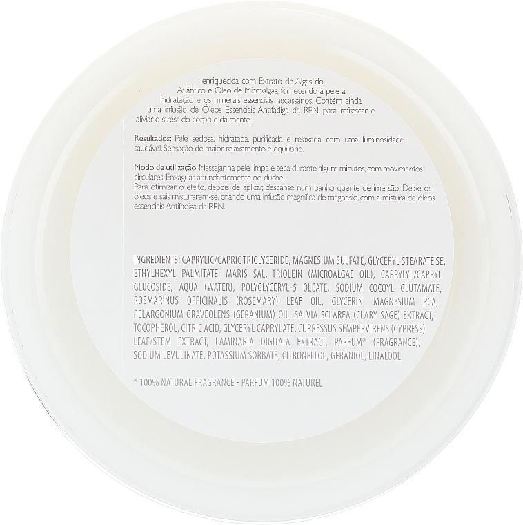 Scrub corpo salino - Ren Atlantic Kelp And Magnesium Salt Anti-Fatigue Exfoliating Body Scrub — foto N4