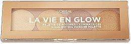 Profumi e cosmetici Palette illuminanti - L'Oreal Paris La Vie En Glow Highlighting Powder Palette