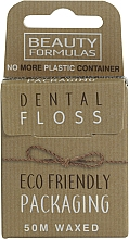 Profumi e cosmetici Filo interdentale cerato ecologico - Beauty Formulas Eco Friendly Dental Floss