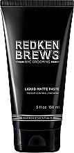Profumi e cosmetici Pasta modellante per capelli - Redken Brews Liquid Matte Paste