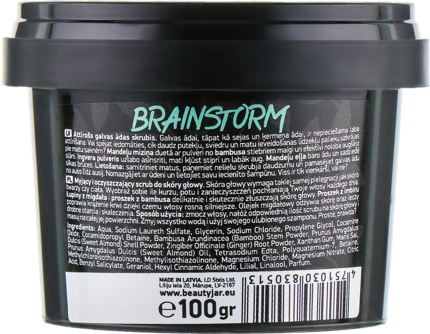 """Scrub detergente per il cuoio capelluto """"Brain Storm"""" - Beauty Jar Cleansing & Purifying Scalp Scrub — фото N3"""