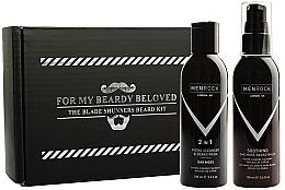 Profumi e cosmetici Set - Men Rock Oak Moss Beard Wash & Balm Set (beard wash/100ml + beard balm/100ml)