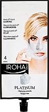 Profumi e cosmetici Maschera viso - Iroha Nature Platinum Peel Off Mask Glowing 4 Uses