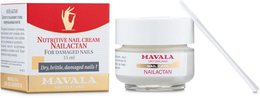 Crema per unghie danneggiate - Mavala Nailactan — foto N1
