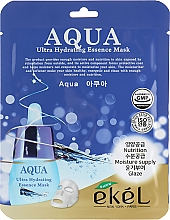 Profumi e cosmetici Maschera in tessuto ultra idratante - Ekel Aqua Ultra Hydrating Essence Mask