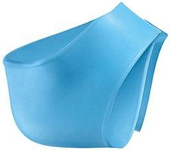 Profumi e cosmetici Calze di silicone, blu - Avon Silicone Heel Socks