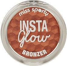 Profumi e cosmetici Polvere abbronzante - Miss Sporty Insta Glow Bronzer