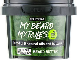 Profumi e cosmetici Burro da barba - Beauty Jar My Beard My Rules Beard Butter
