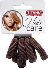 Profumi e cosmetici Elastico per capelli media, marrone - Titania