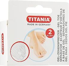 Profumi e cosmetici Separatore dita piede, in gel - Titania